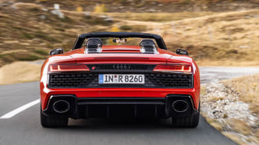 Audi R8 RWD Spyder - full rear