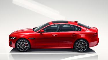 Jaguar XE - studio side static