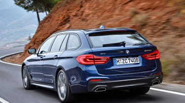 New BMW 5 Series Touring - rear action