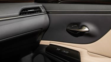 Lexus ES - door detail