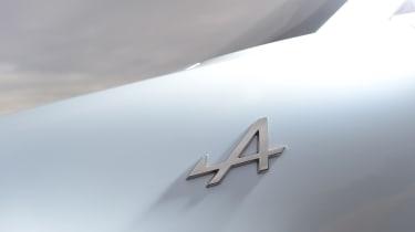 Alpine A110 badge