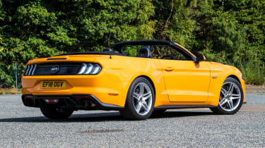 Ford Mustang Convertible - rear