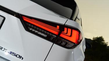 Lexus 450h F Sport - rear light