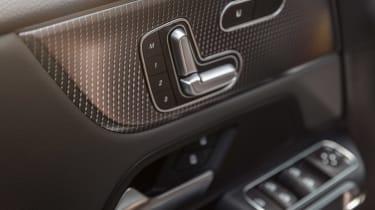 Mercedes EQB - seat controls