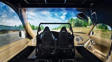 Porsche Macan EV - interior