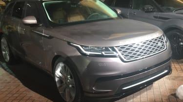 Range Rover Velar official reveal - front