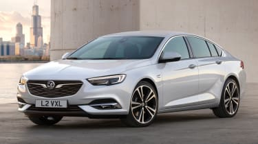 New Vauxhall Insignia Grand Sport - front/side static