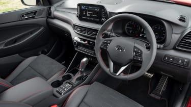 Hyundai Tucson N Line - interior