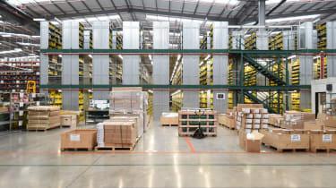 Bentley parts warehouse -