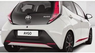 New Toyota Aygo rear