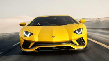 Lamborghini Aventador S - front end tracking