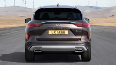 New Infiniti QX50 SUV - rear