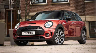 MINI Clubman - front red static