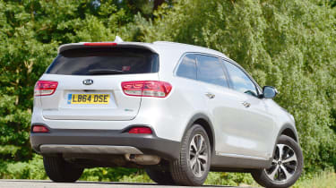 Kia Sorento - rear static