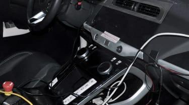 Jaguar I-Pace interior spy shot