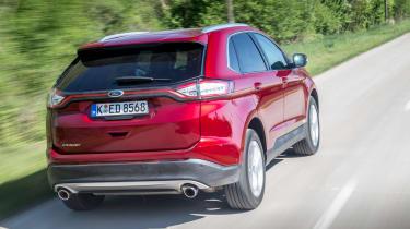 Ford Edge Titanium 2016 - rear tracking
