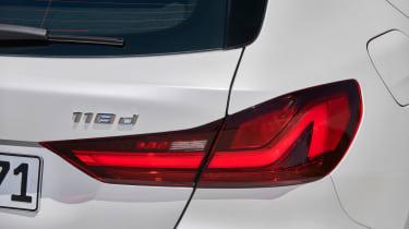 BMW 1 Series 2019 rear lights