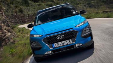 Hyundai Kona hybrid - full front