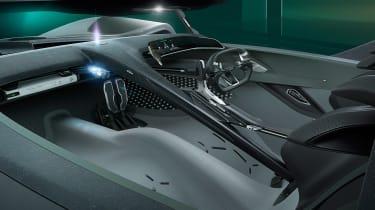 Jaguar Vision GT concept - cabin