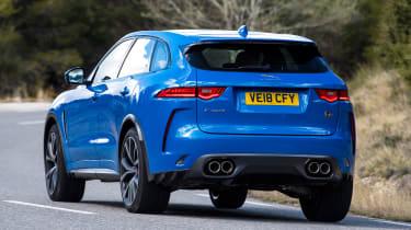 Jaguar F-Pace SVR - rear cornering