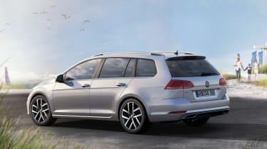 New 2017 Volkswagen Golf Estate - rear static