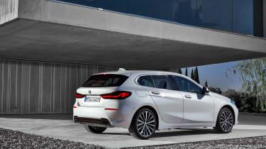 New BMW 1 Series 2019 rear