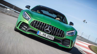 Mercedes-AMG GT R - track front tracking