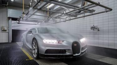 Bugatti chiron leak test