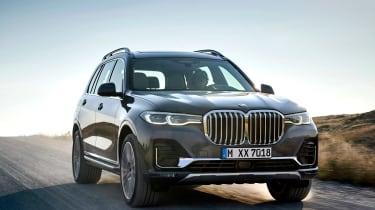 BMW X7 spy shot - front