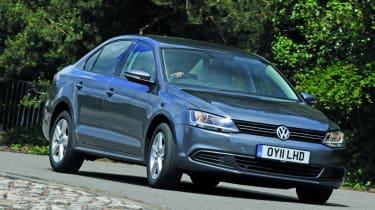VW Jetta front