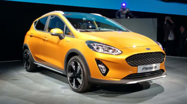 New 2017 Ford Fiesta Active - presentation front