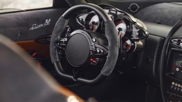 Pagani Huayra BC roadster steering wheel