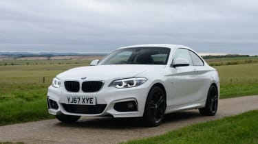 BMW 2 Series - front static