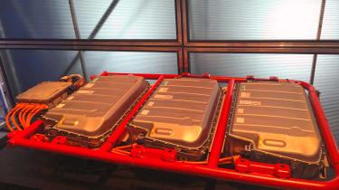 New Mercedes Sprinter - battery packs