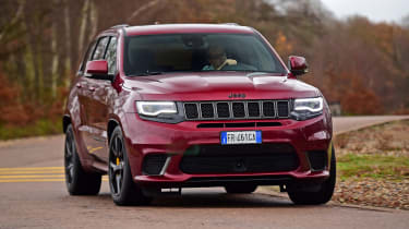 Jeep Grand Cherokee Trackhawk - front cornering