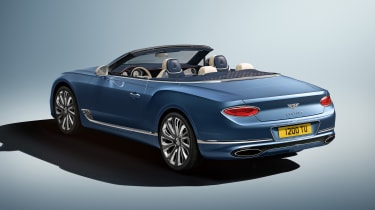 Bentley Continental GT Mulliner Convertible - rear 3/4 static