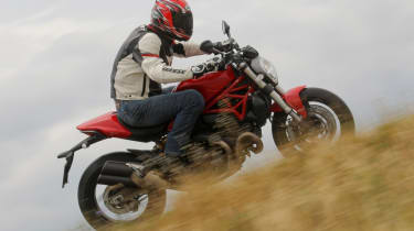 Ducati Monster 821 review - side profile