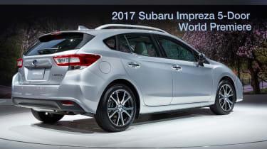 Subaru Impreza 2016 - show rear