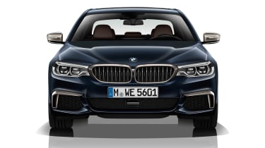 BMW M550d xDrive - full front