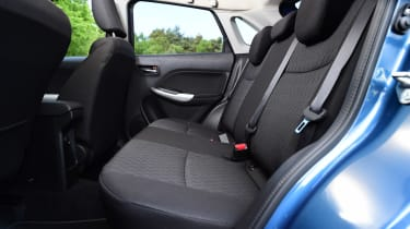 Suzuki Baleno - rear seats