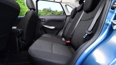 Suzuki Baleno - rear seats