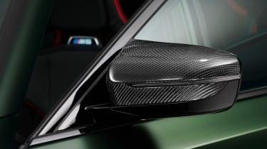 BMW M5 CS - studio wing mirror