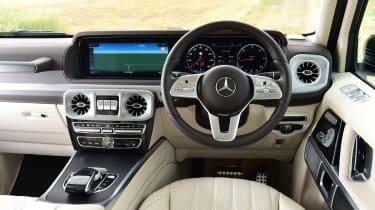 Mercedes G 400 d 2021 review - interior