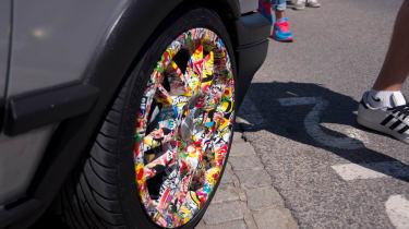 Sticker wheels Worthersee