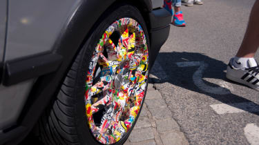 Sticker wheels Worthersee