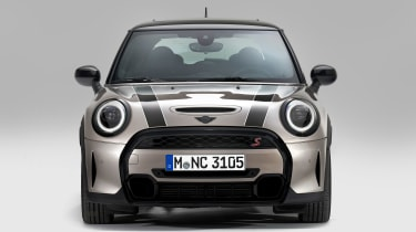 MINI 3-door hatch facelift - full front