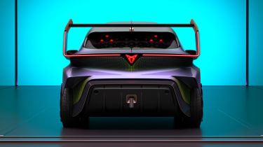 Cupra UrbanRebel concept - full rear