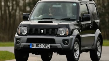 The Suzuki Jimny has been around since 1998, and feels its age.