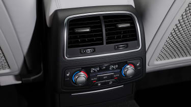 Audi A7 - rear climate