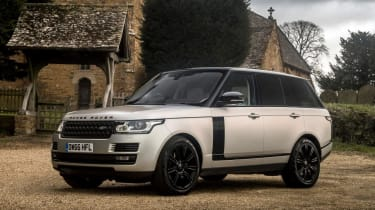 Used Range Rover - front